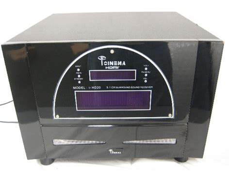 icinema i hd20 5 1 high definition surround sound home