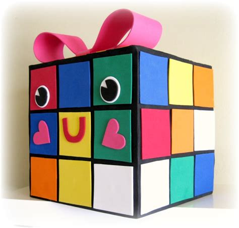valentines boxes peppermint plum rubie my rubiks cube box