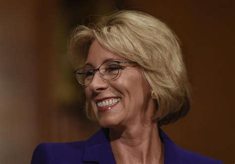 betsy devos new education bill devos moves to head of the class