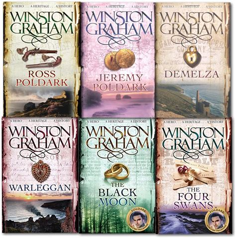 libro ross poldark a novel winston graham poldark series 6 libros set de colecci 243 n a novel of cornualles