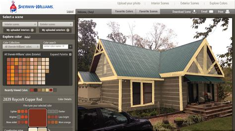 exterior cabin color schemes studio design gallery best design