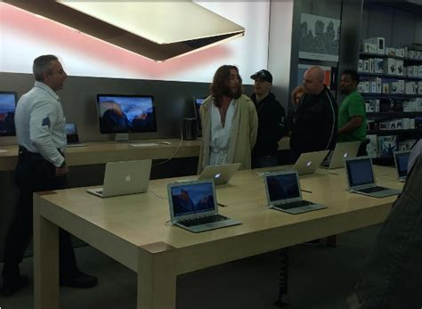 Miller Probation Office by Philly Jesus Found Guilty Of Trespassing At An Apple Store
