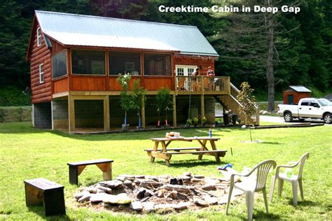 Cabin Rentals Boone Nc Area by Gap Boone Carolina Creekside Family Cabin Rental Trout Fishing Cabin Skiing