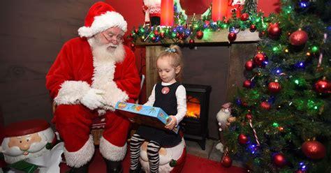 santas grottos  liverpool  visit  christmas  liverpool echo