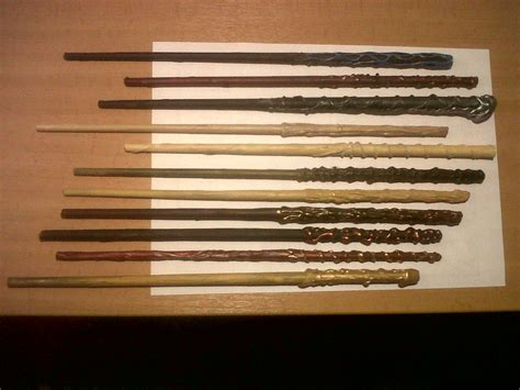 How To Make A Paper Harry Potter Wand - a particularly magic batch of wands yummycheffarley
