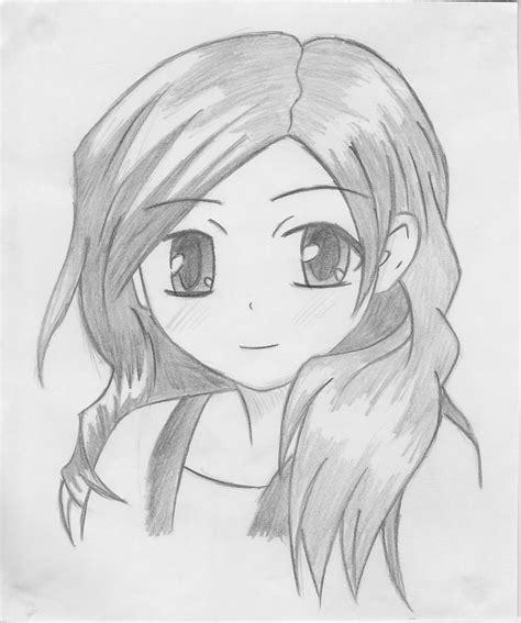sketch in sketchbook pencil sketch of anime anime pencilmoonllita on