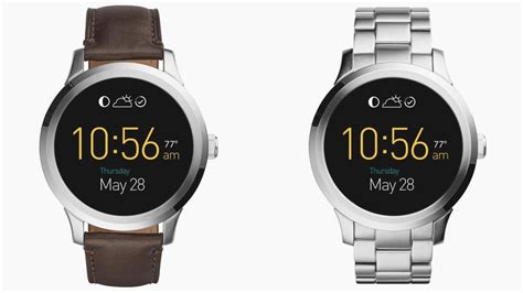 smartwatch fossil fossil q founder available now taking on tag in