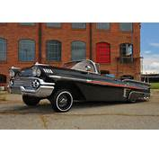 1958 Chevrolet Impala Convertible Left Side View Promo