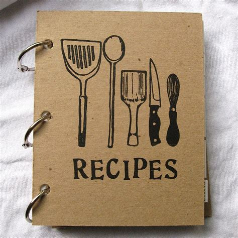 recipe of books blank recipe book