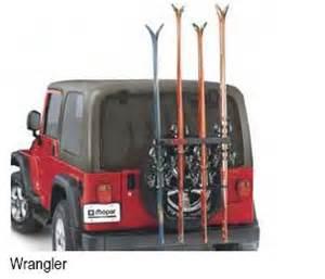 Ski Rack For Jeep Wrangler Mopar Ski Rack Jeep Jk Wrangler 2007