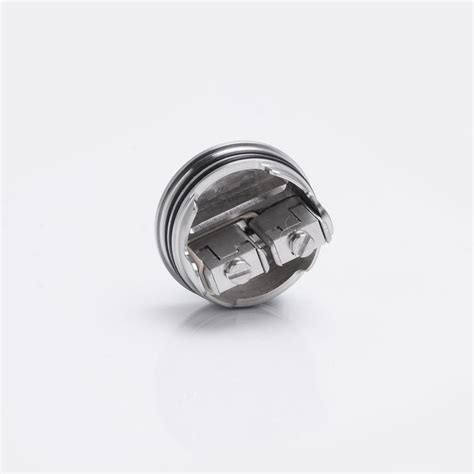 Kryten Styled Rda Rebuildable Atomizer Silver kryten style rda silver 316ss 24mm rebuildable atomizer with bf pin