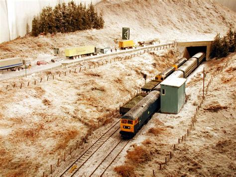 model railroad hobbyist magazine model trains model blair atholl towards drumochter scotland model