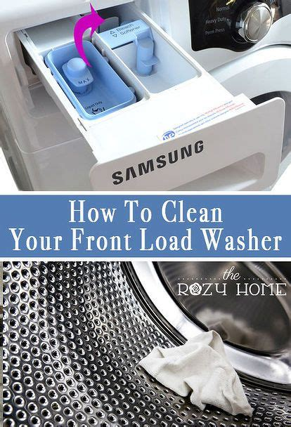 front load washer cleaner 25 best ideas about front load washer on cleaning washer machine clean washer