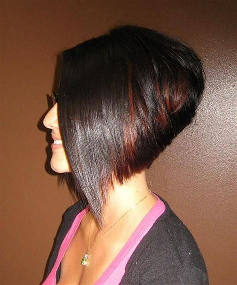 asymetrical ans stacked hairstyles best 25 stacked angled bob ideas on pinterest longer