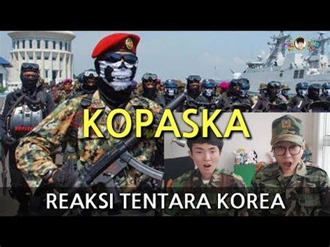 film boboho tentara bahasa indonesia tentara korea kaget menonton kopaska tni pasukan khusus
