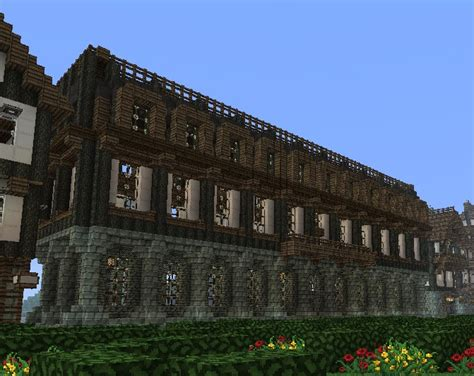 Create 3d Floor Plan medieval apartment building minecraft project