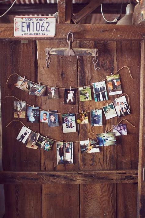 photo display 26 creative diy photo display wedding decor ideas tulle