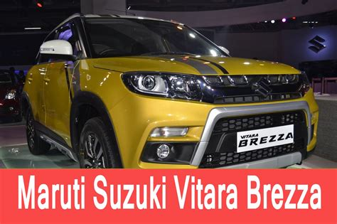 maruti suzuki price in india maruti suzuki vitara brezza price in india review test
