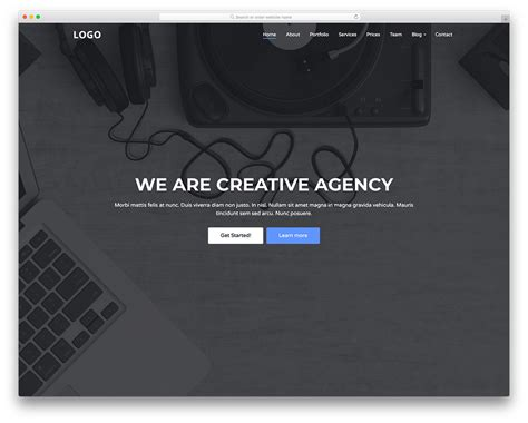 creative agency template creative agency free digital creative agency website