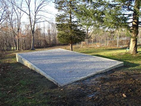 site preparation storage sheds ny ct   backyards