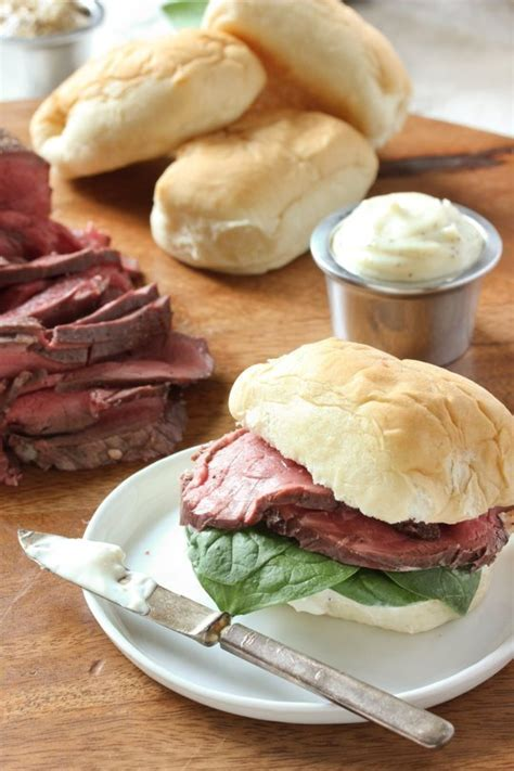horseradish sauce for beef beef tenderloin sliders with horseradish sauce recipe