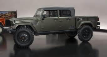 Jeep Truck Concept 2016 Jeep Crew Chief Concept As New Wrangler Design