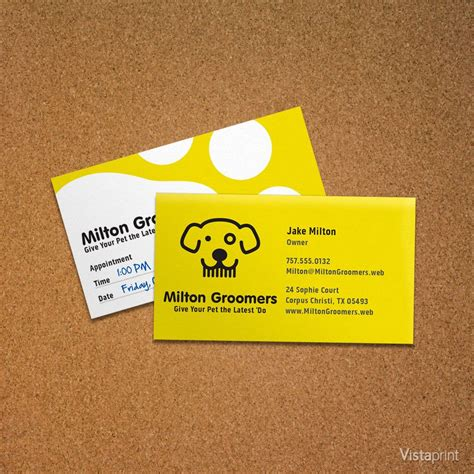 Business Cards Vistaprint