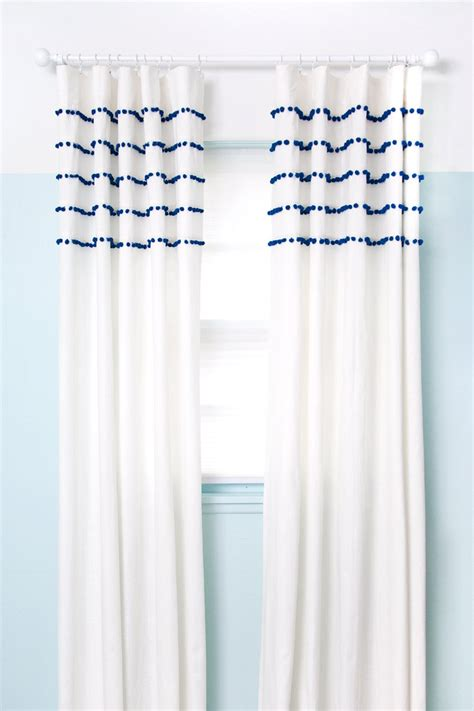 Pom Pom Curtains Give Your Windows A Makeover With These 20 Diy Curtains