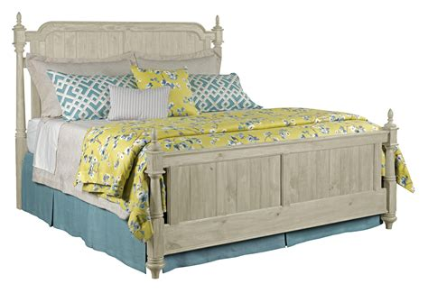 furniture weatherford 75 136p westland king bed package with bed posts and panel
