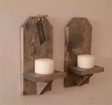 Wood Wall Sconce Rustic Wood Wall Sconce Pair 12 Wall Sconce