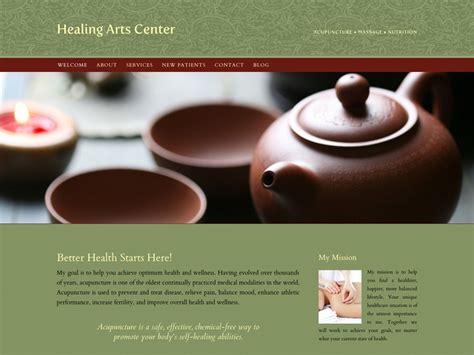 Acupuncture Websites Qisites Responsive Website Designs For Acupuncturists Acupuncture Website Template Free