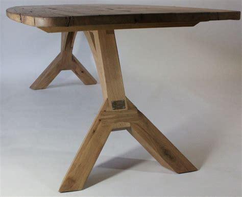 eiken tafelblad nijmegen samosa ontwerp op maat 187 onderstel oversteek met ovaal