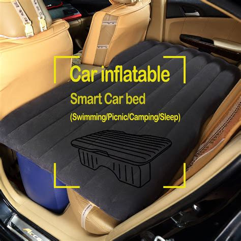 car bed car seat car air mattress travel bed car back seat cover inflatable