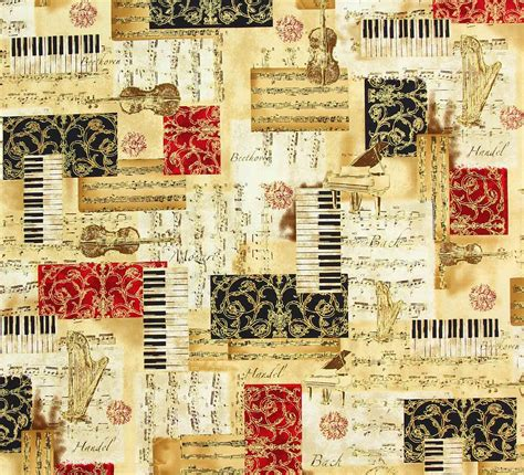 music themed quilting fabric code music11 price 163 14 00 metre images frompo