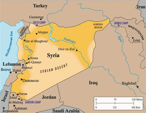 where is syria on the map why aleppo is so important for and turkey iakovos