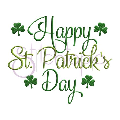 s day designs happy st s day embroidery design stitchtopia