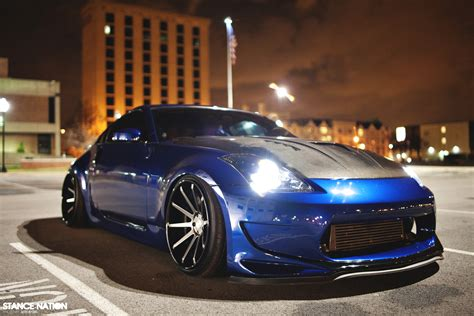 slammed nissan 350z nessen forged turbo nissan 350z stancenation form