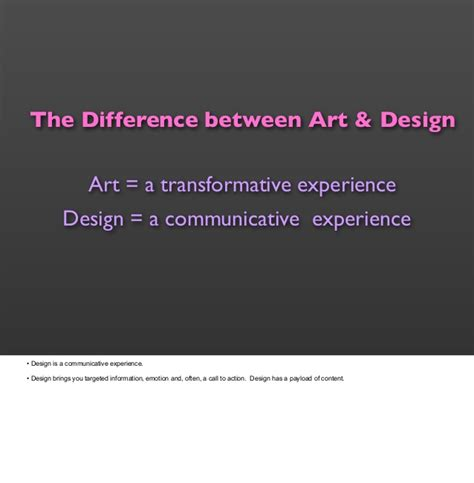 design art difference the difference between art design