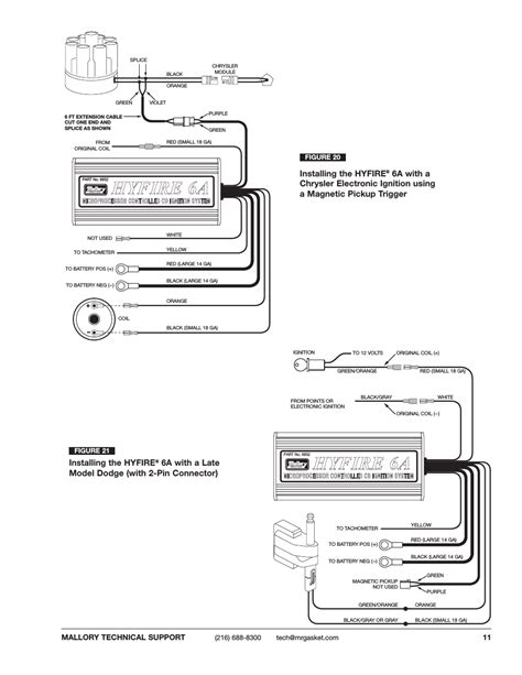 mallory hyfire 685 wiring diagram wiring diagrams wiring