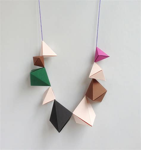 How To Make Jewellery From Paper - diy paper jewelry handmade
