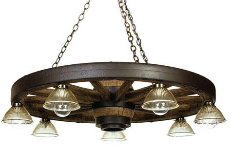 Wagon Wheel Chandeliers 42 Quot Downlight Reproduction Cast Downlight Chandelier