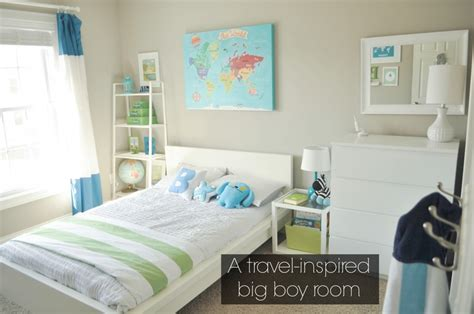 travel bedroom decor bodhi s travel inspired big boy room with modern