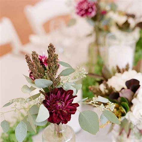 bud wedding centerpieces brides