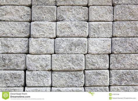 Gray Brick Pavers Gray Paver Wall Royalty Free Stock Photos Image 21870198