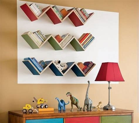 25 ideas for shelves decoration with books creating kids room patterns chevron kidspace interiors nauvoo il