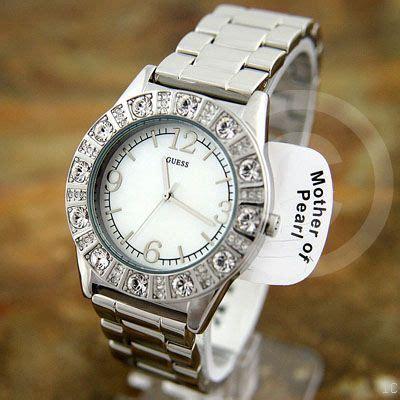 Aretta Set Black ceas de mana guess guess sparkle silver pearl g86060l