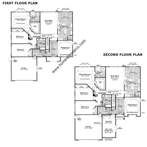 line from neumann homes floor plans