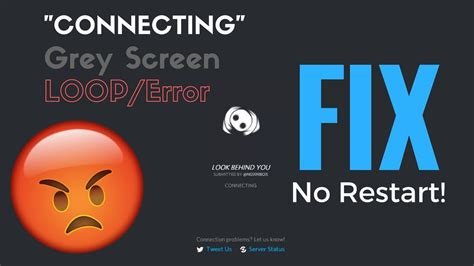 discord grey screen how to fix discord grey screen quot connecting quot loop 2017