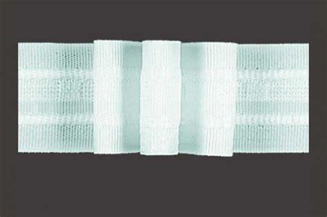 gardinenband ohne falten gardinenband 3er falte 2 fache stoffmenge 26 mm wei 223