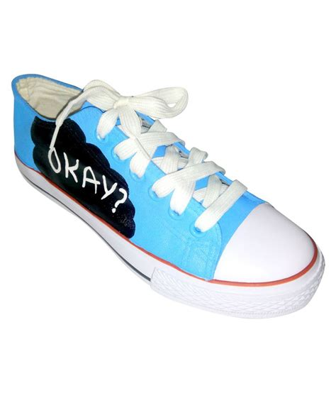 funky n trendy blue black casual shoes price in india